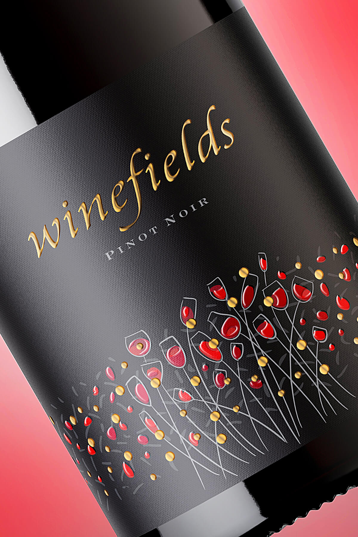 Winefields – A Romantic Brand Concept for A New Wine Range