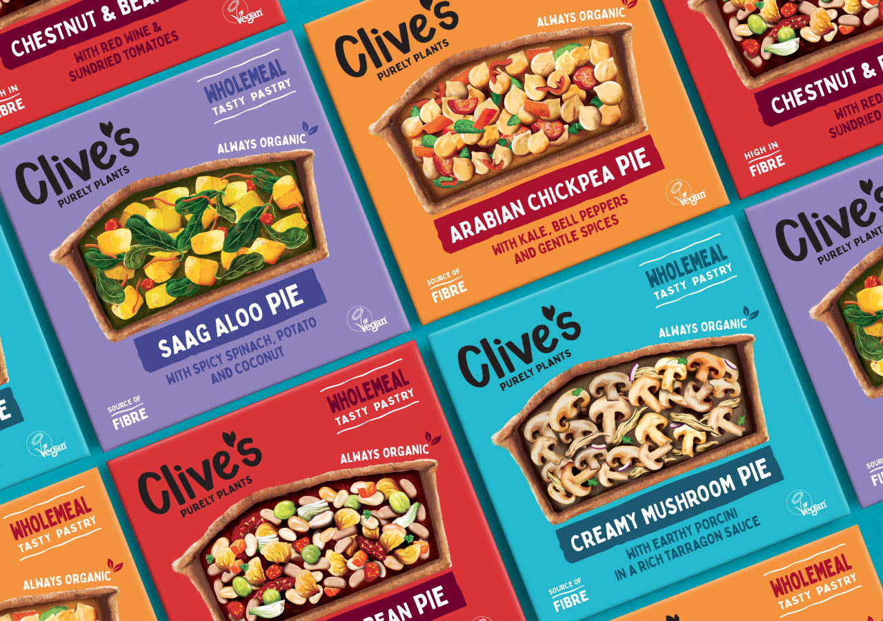 Clive's Pies Rebrand