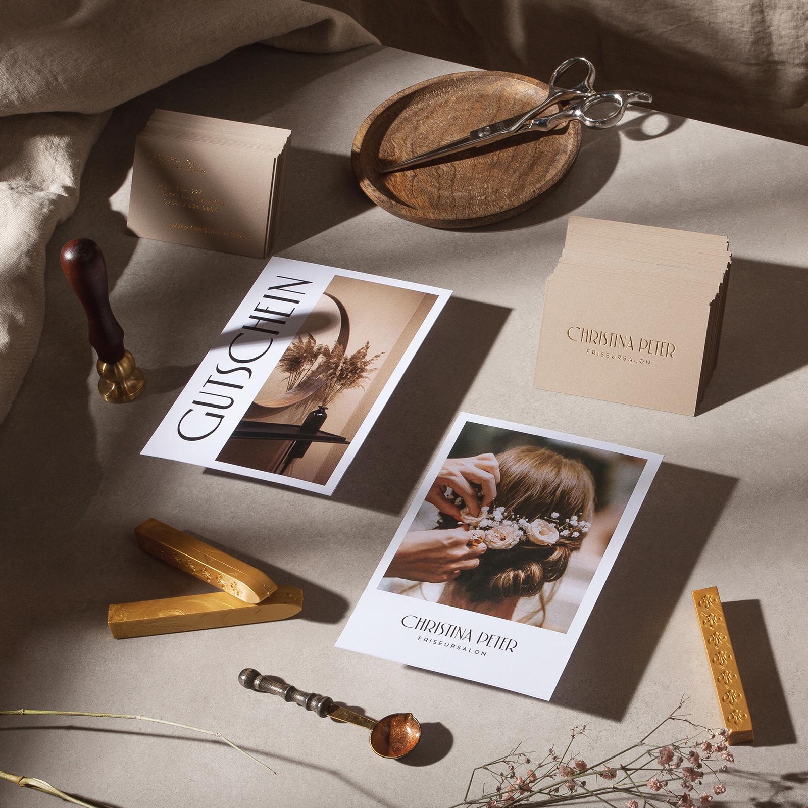 Brand Identity for Luxury Hairdressing Salon
