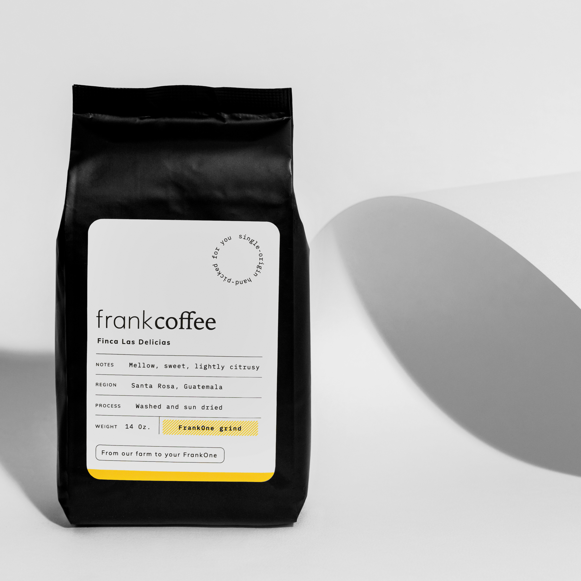 Enlinea Studio Creates Branding and Packaging Design for FrankCoffee