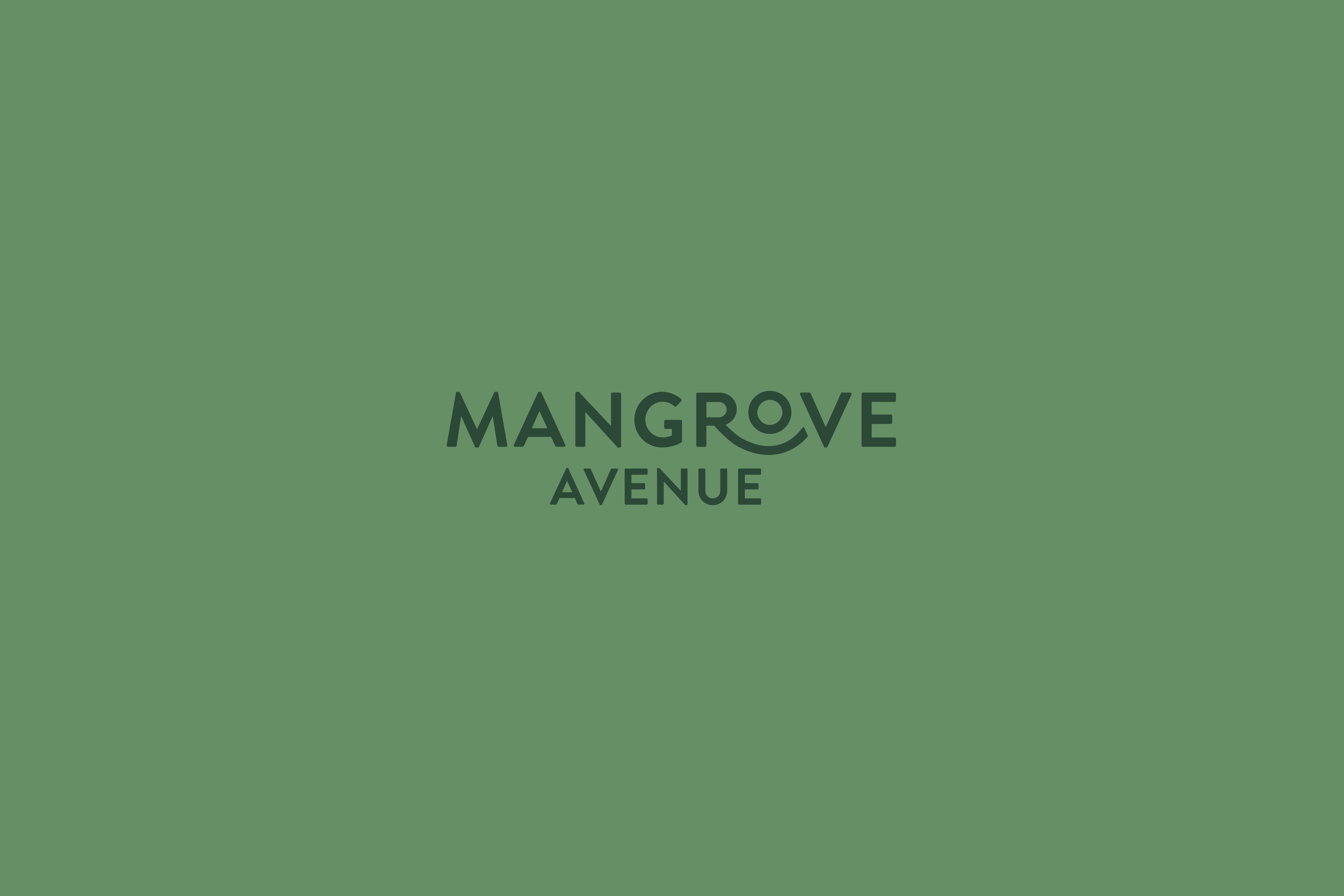 Heyho Co Design Designs the Visual Identity for Mangrove Avenue