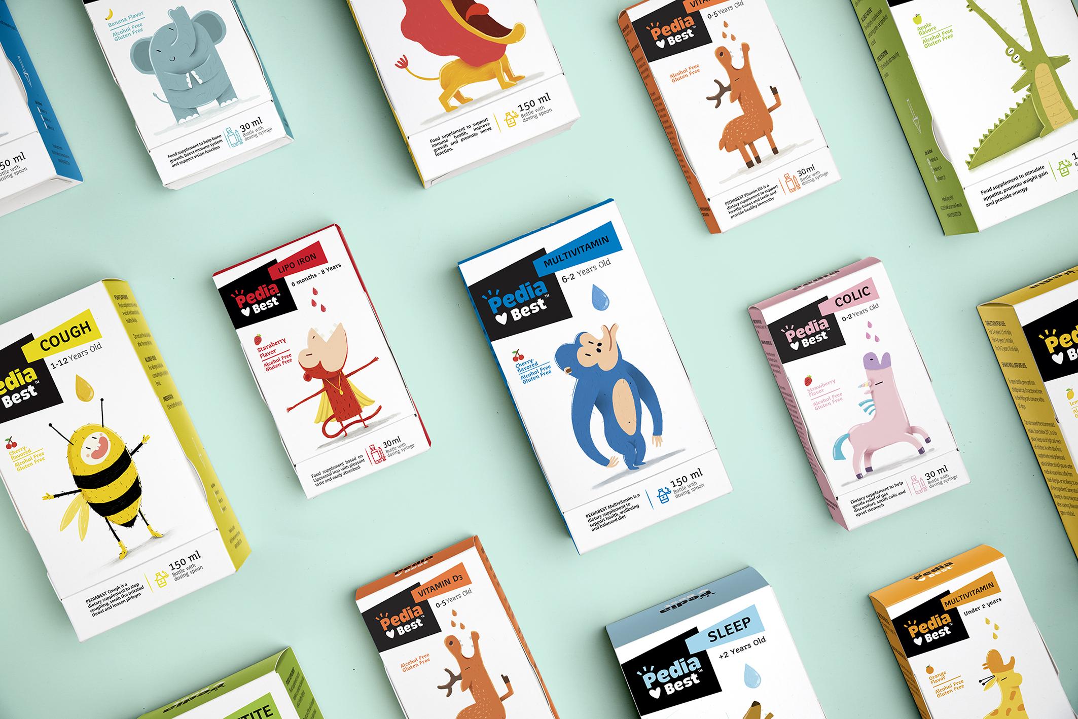 Kids Supplements Packaging