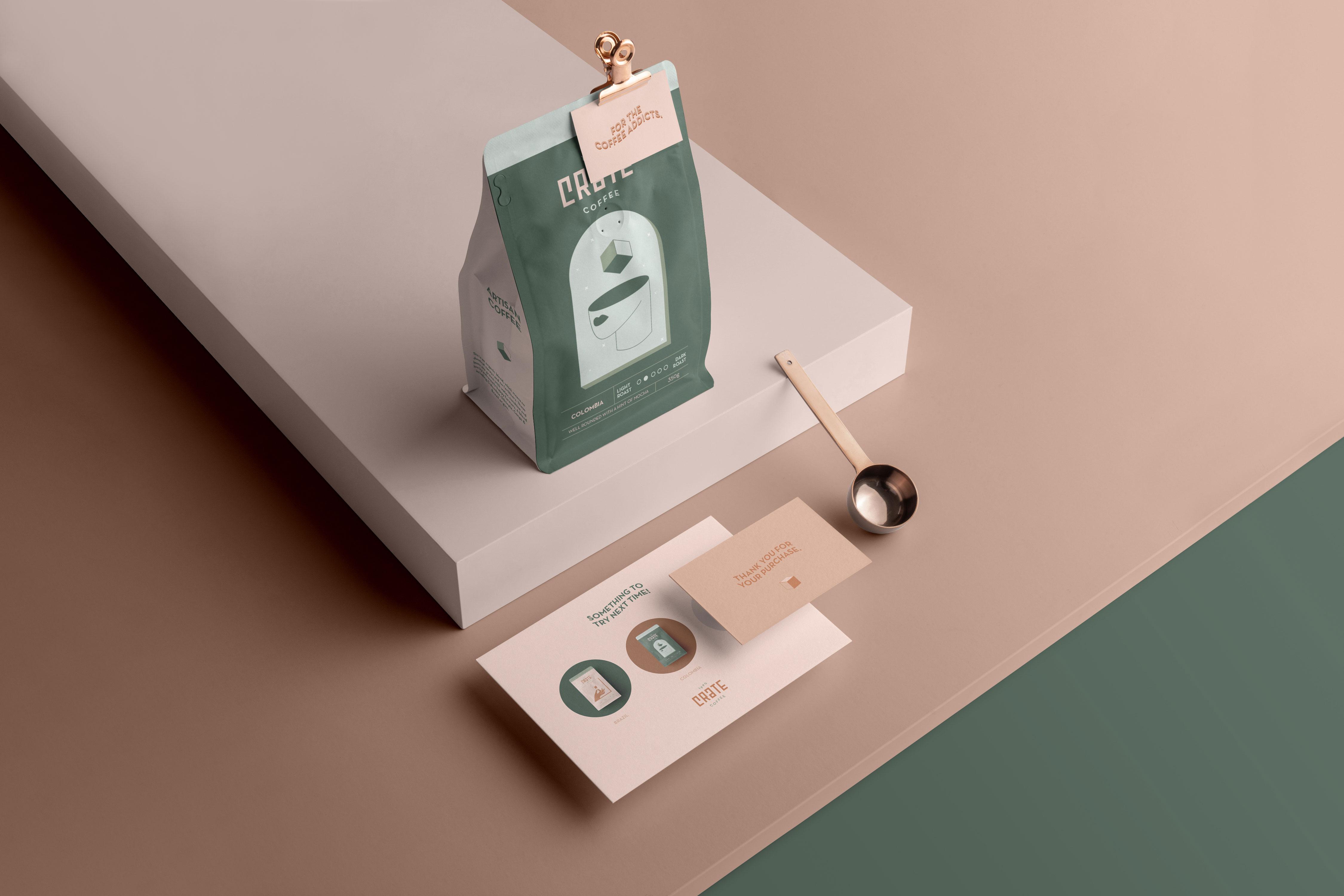 Crate – Conceptual Coffee Brand Design