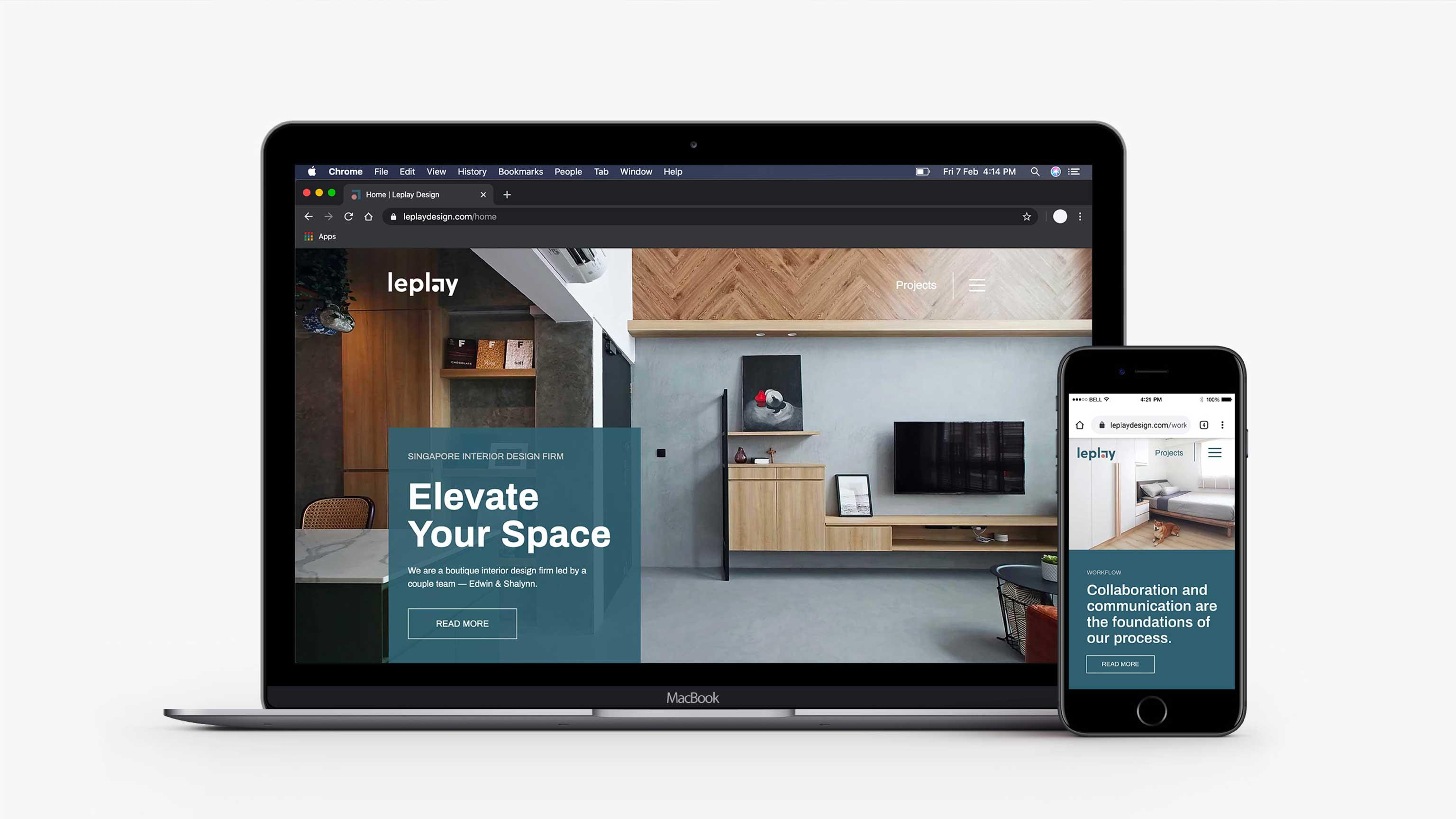 Rebranding Leplay ID Firm
