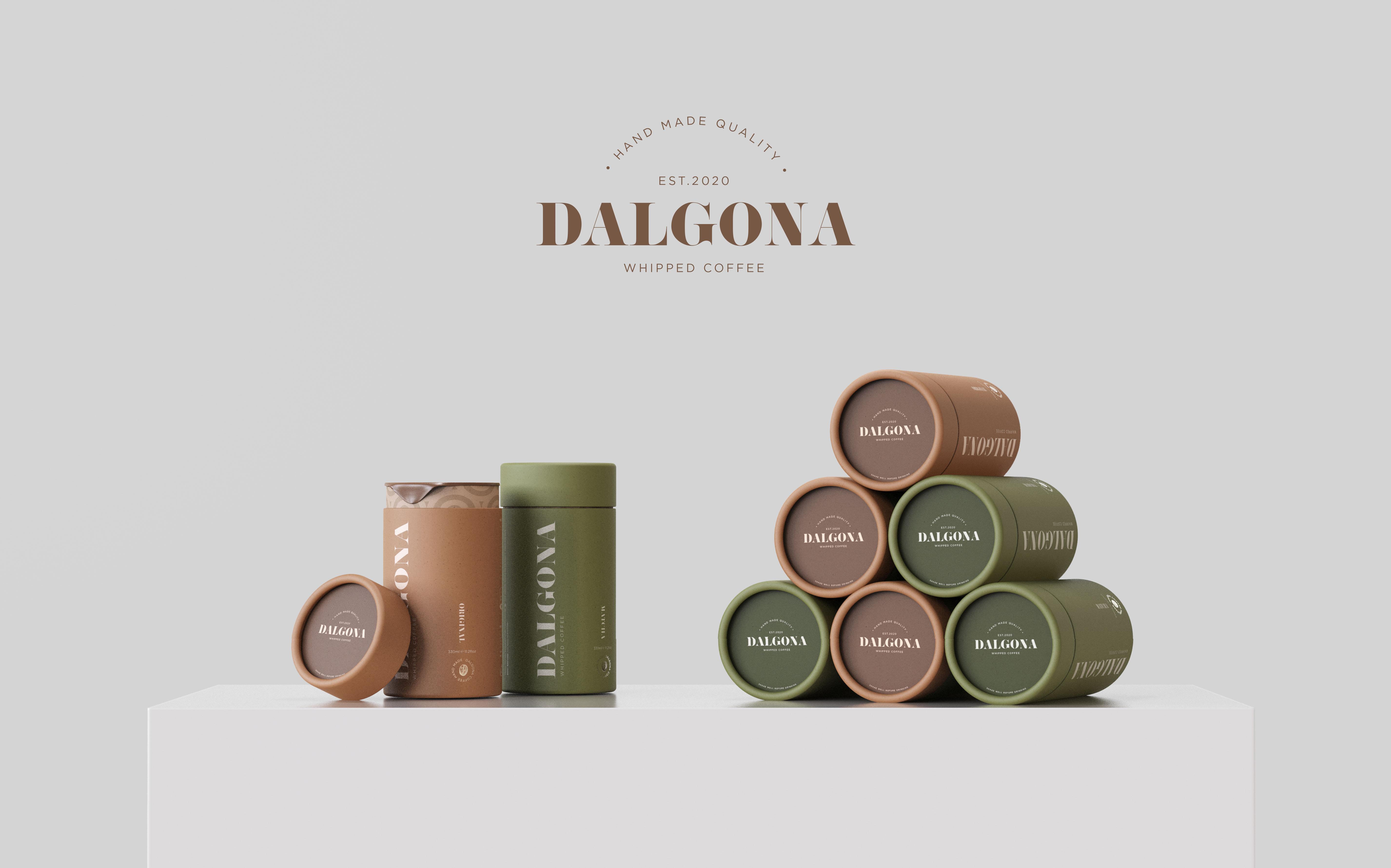 Dalgona Whipped Coffee Packaging