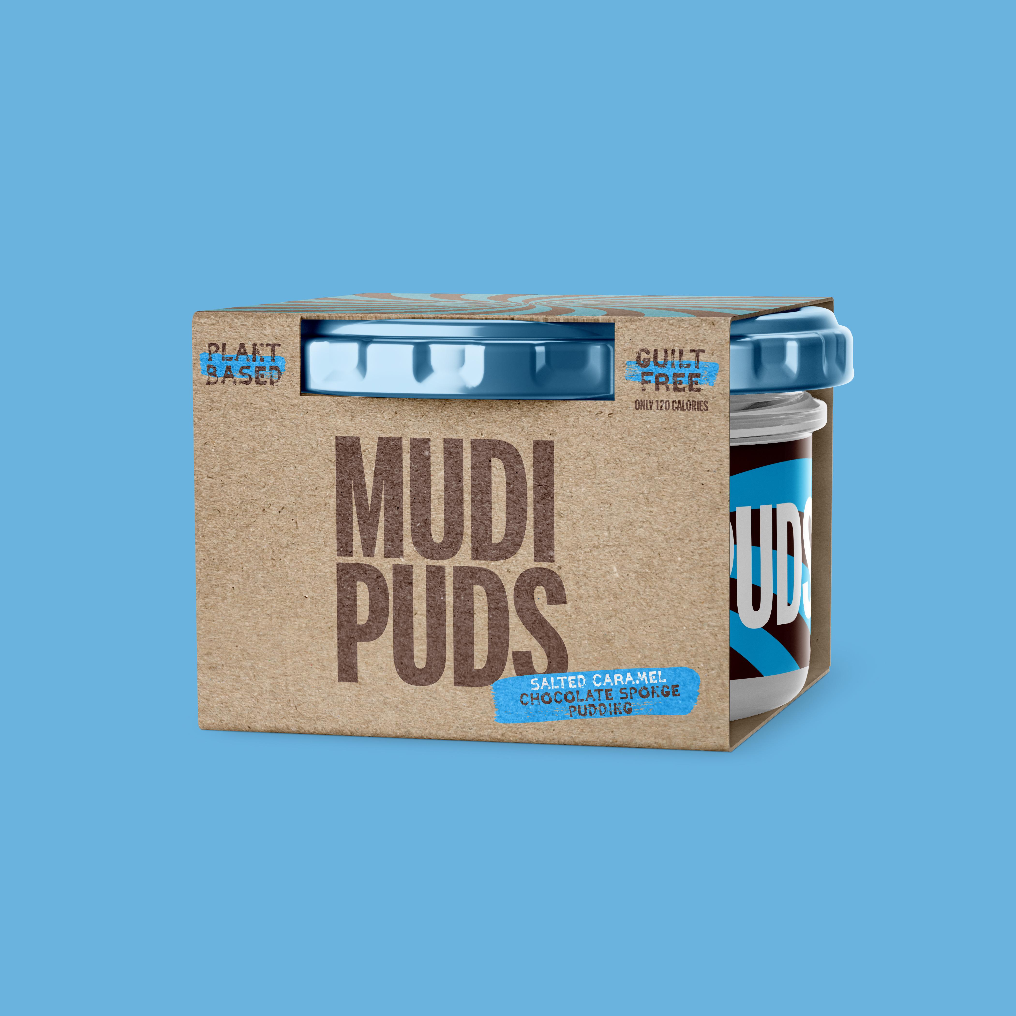 Mudi Puds Branding and Packaging