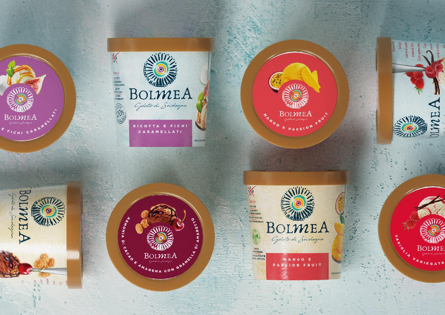 Bolmea Ice Cream From Sardinia