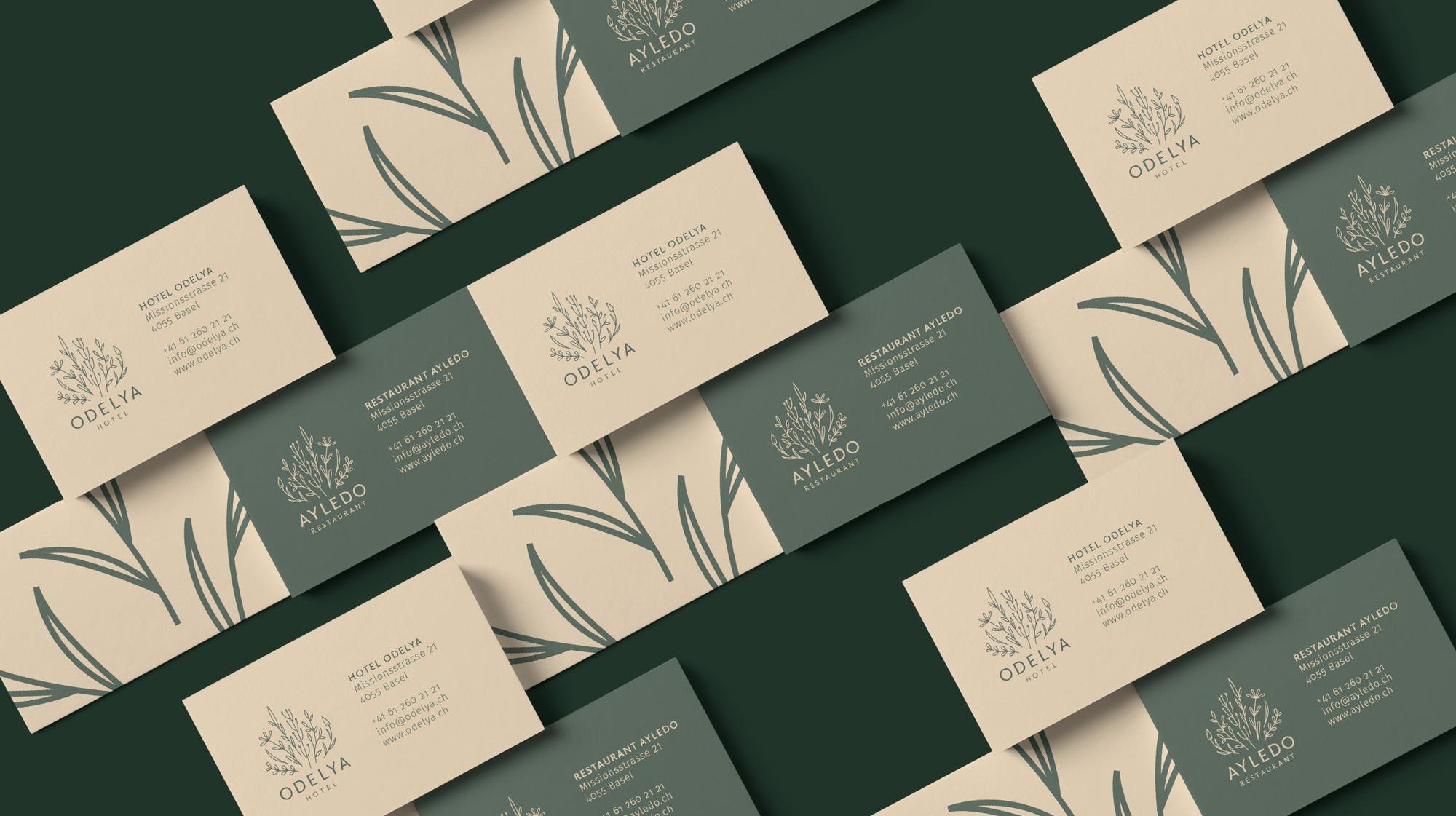 Branding for Hotel ODELYA