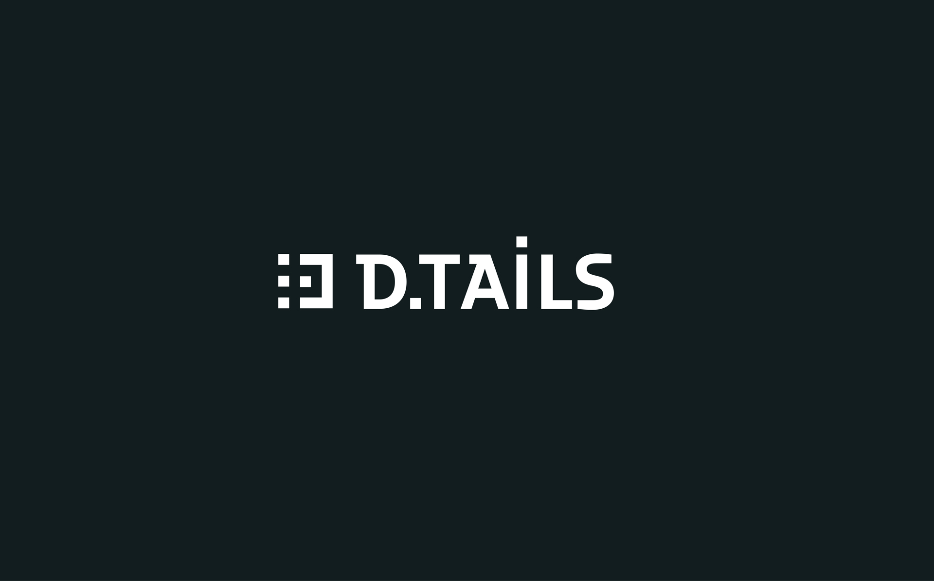 Brand Identity for D.TAILS