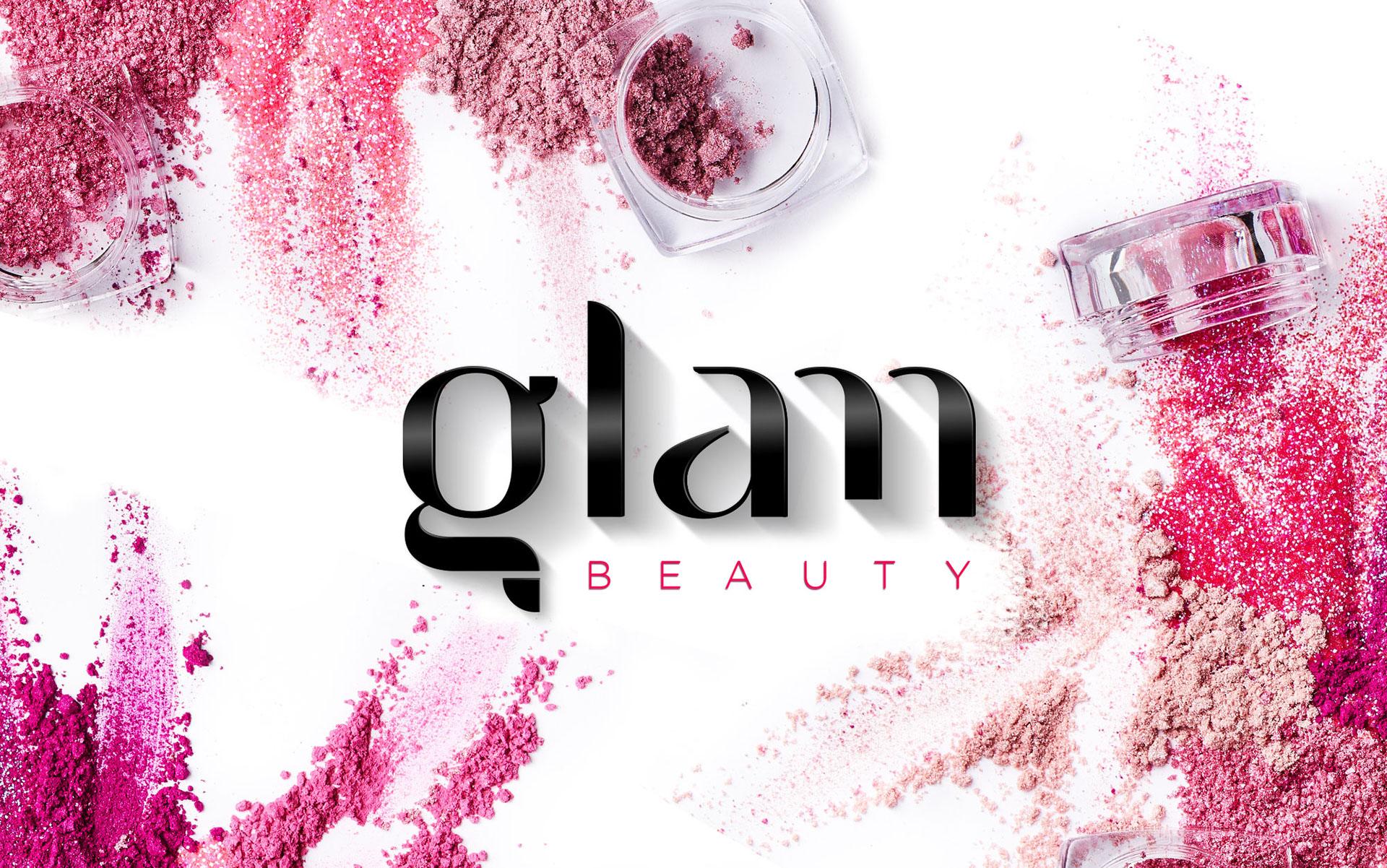 Glam Cosmetics Branding