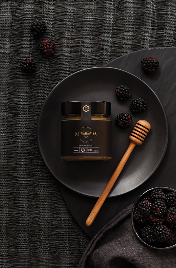 Manuka Wellbeing Branding and Packaging Design