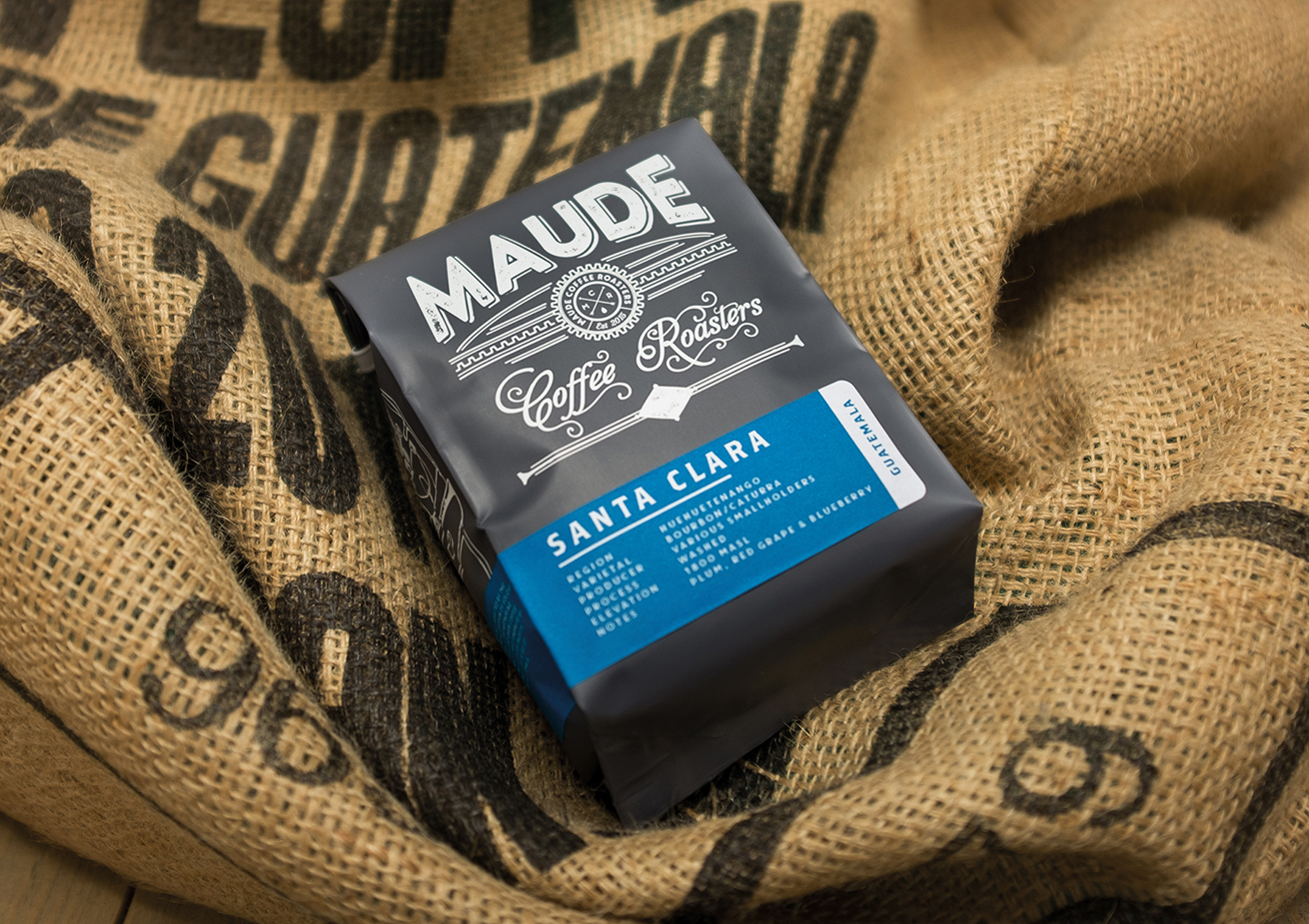 OurCreative. Maude Coffee Roasters
