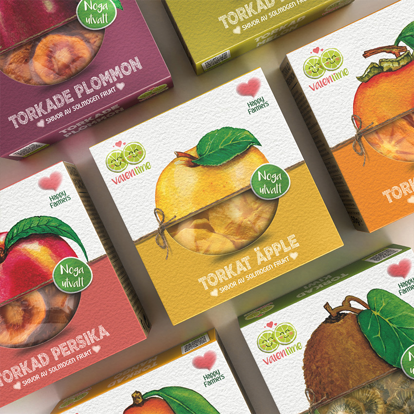 Dried Fruits Packaging Design