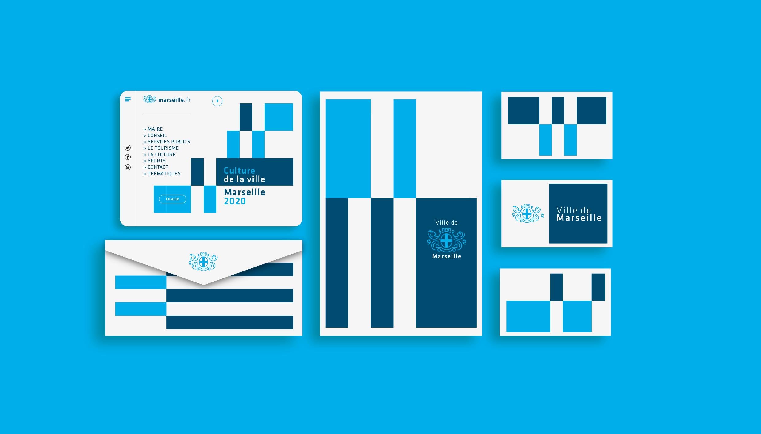 City of Marseille Rebranding