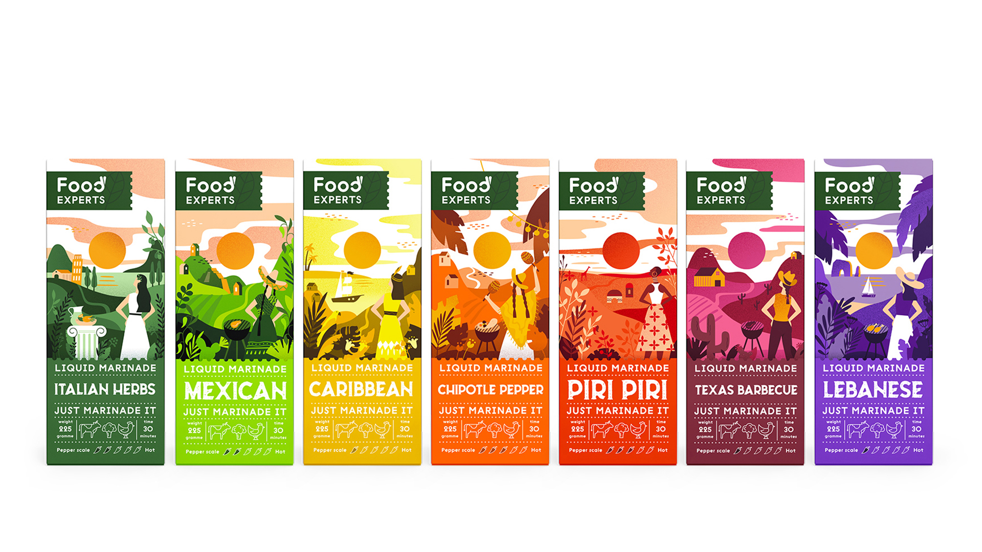 FoodExperts Packaging Design by Unblvbl Agency