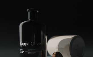 Chic Olive Oil Packaging Design