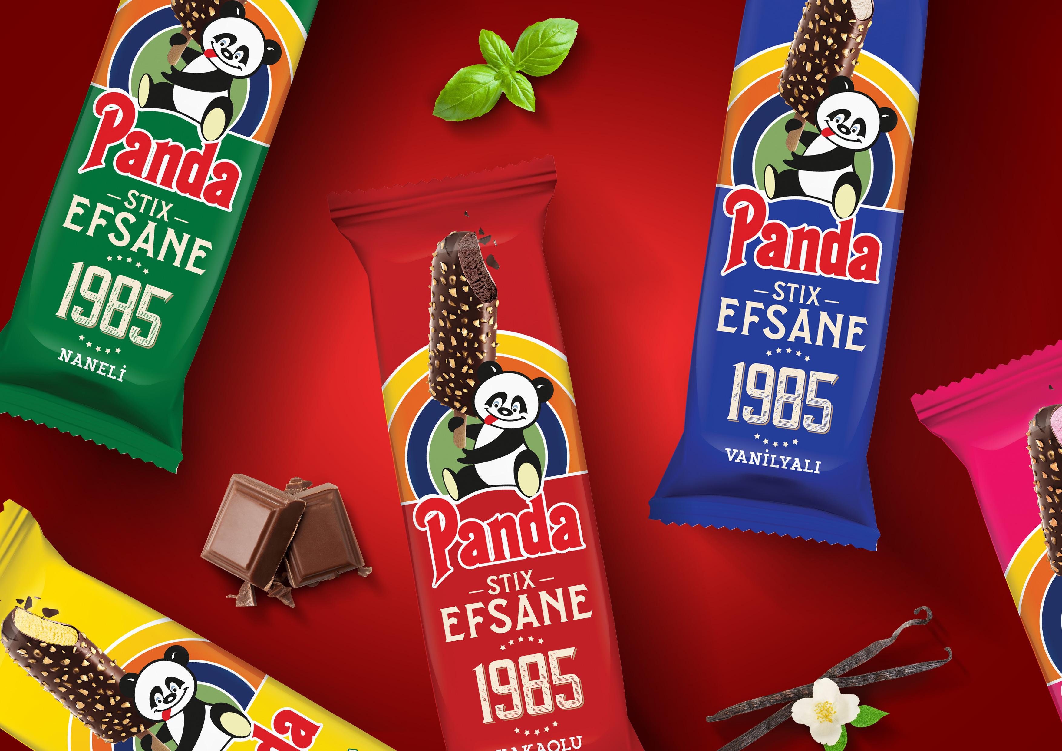 Panda Efsane Stix 1985