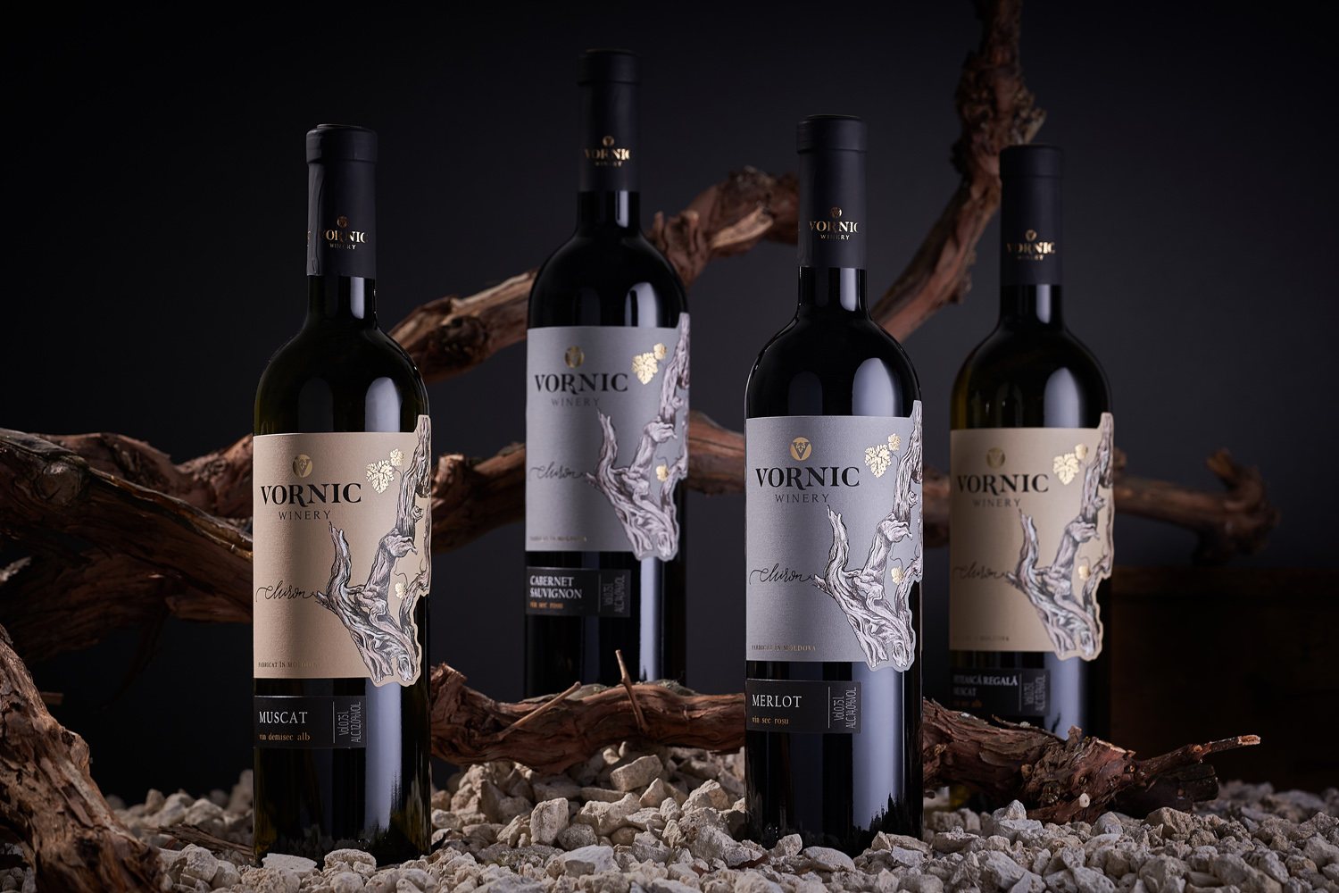 Family Winery Label Design – Vornic Winery