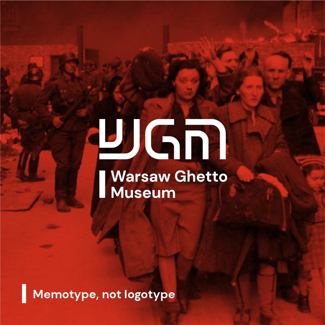 Warsaw Ghetto Museum Brand Identity