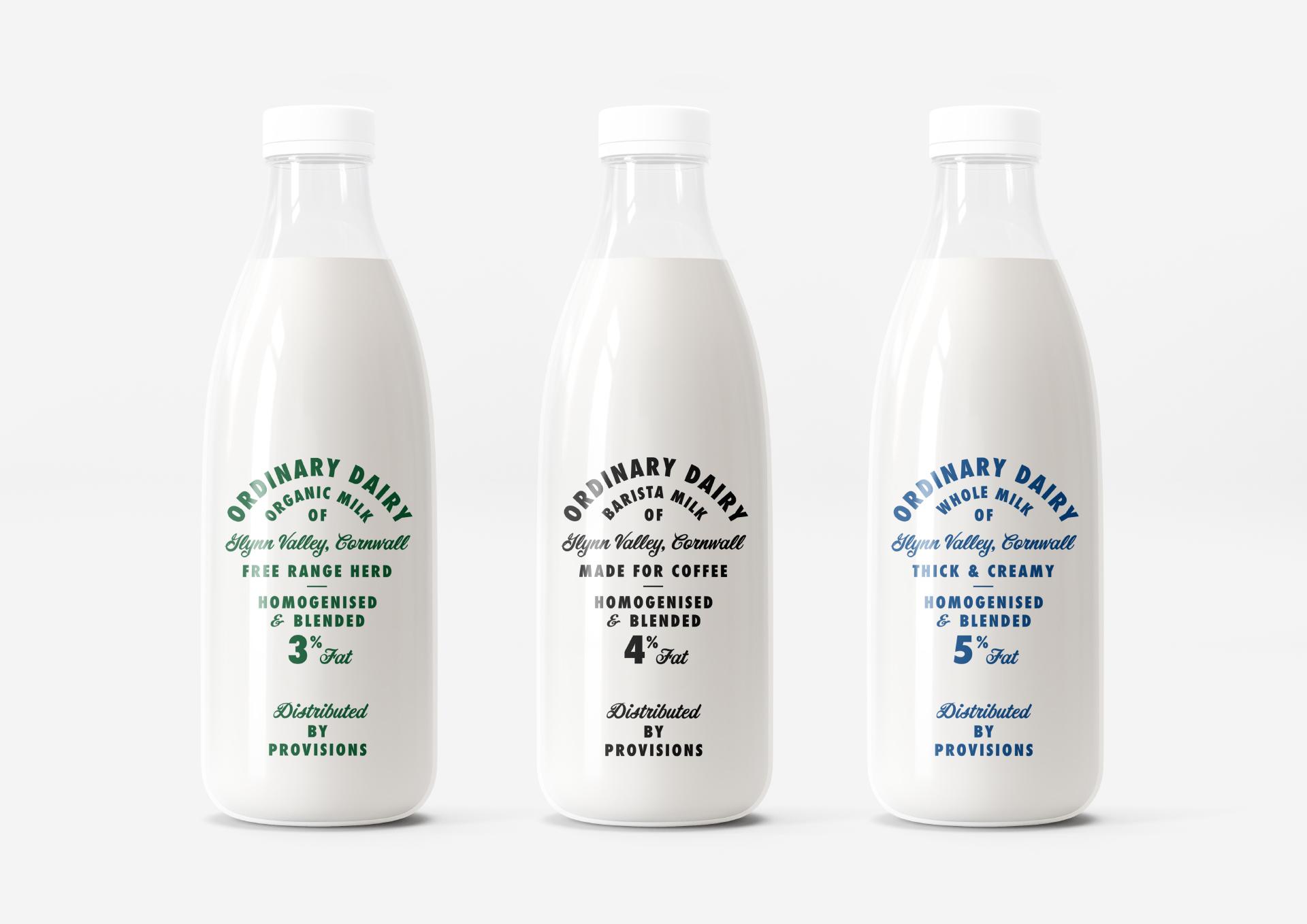 Ordinary Dairy — Studio Look at that Creates a Heritage Milk Brand