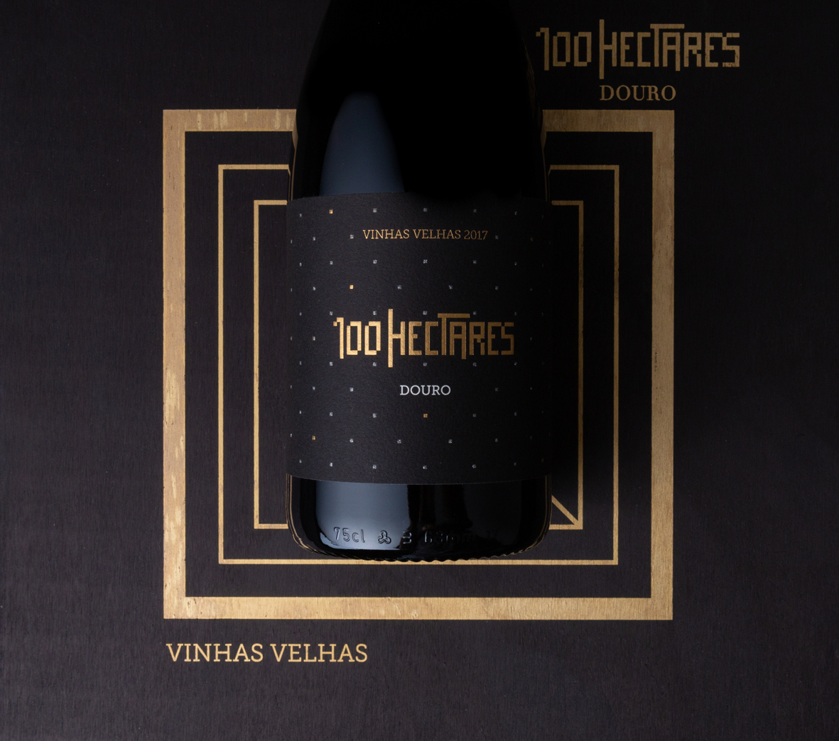Brand Identity and Packaging Design for 100 Hectares Old Vines