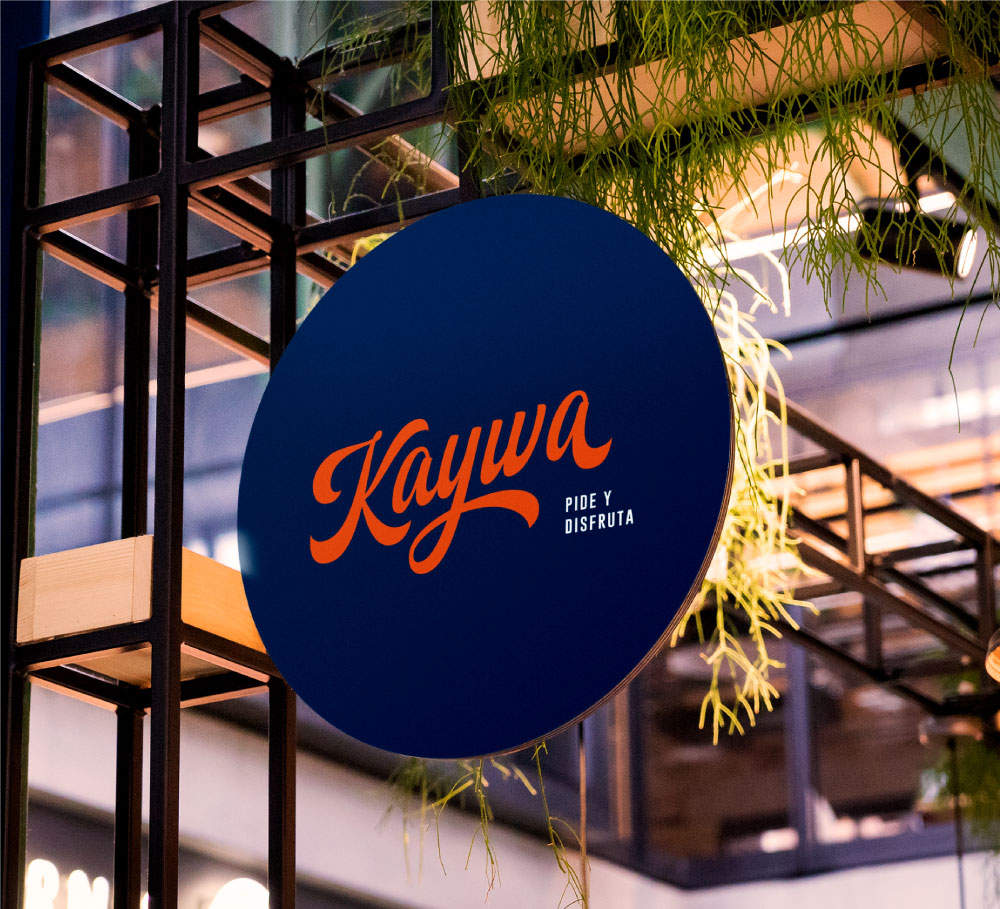 Branding for Kaywa Restaurant – By Frame