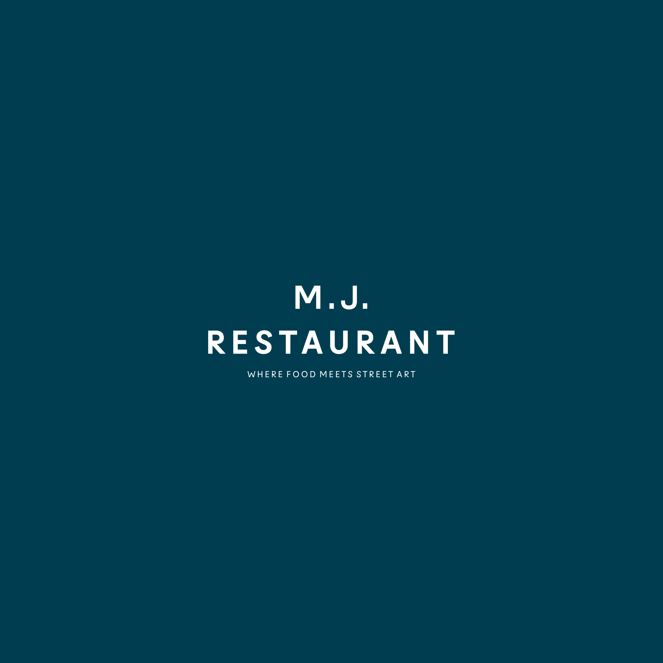 Credo Agency Creates Visual Identity for MJ Restaurant