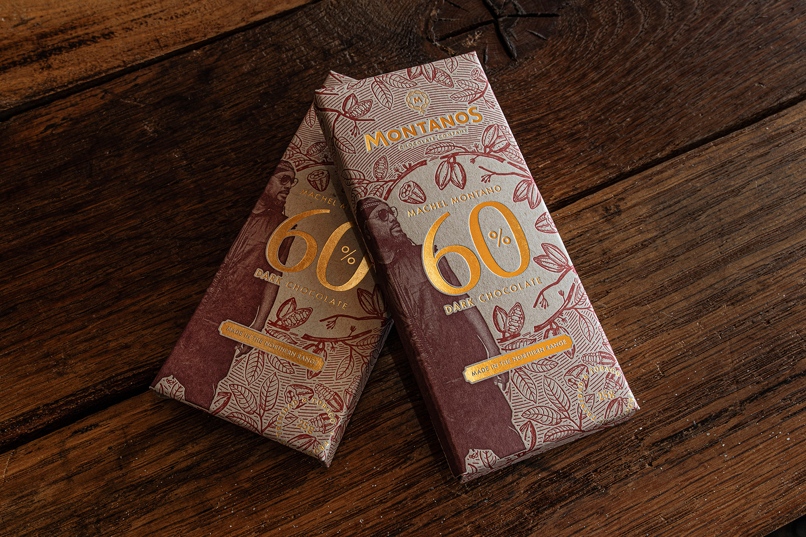 Praktis Designs New Identity and Packaging for Montanos' Chocolate Co.