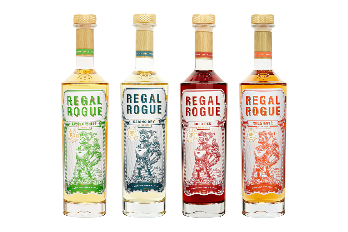 Regal Rogue Vermouth Packaging Refresh