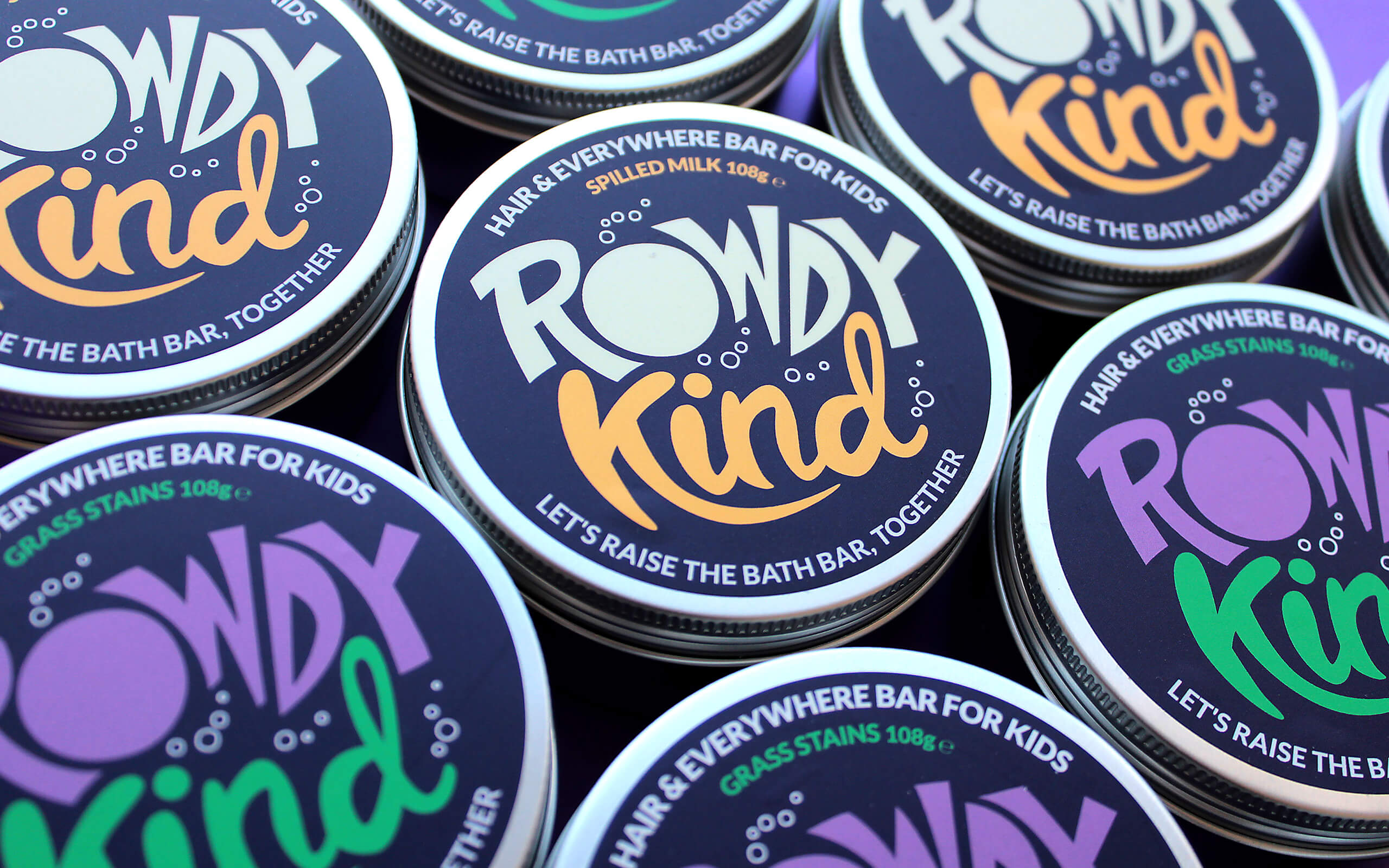 Taller Design Creates New Bath Bar Brand – Rowdy Kind