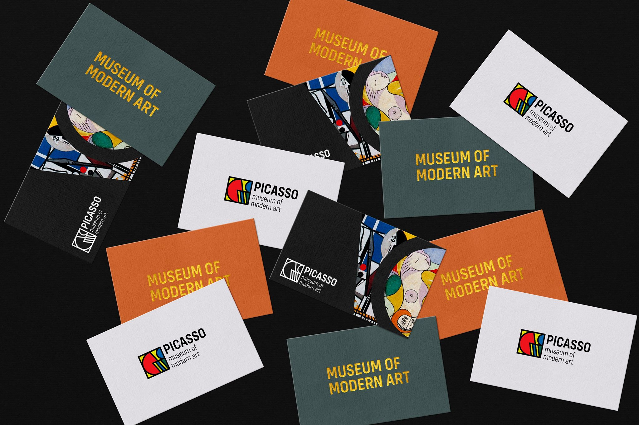 Concept for Picasso Museum of Modern Art Identity Design