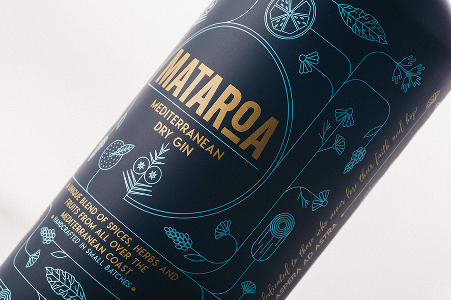 "Mediterranean Dry Gin ""Mataroa"""