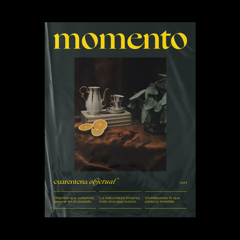 Folk Estudio Designed a New Editorial Project for Momento Magazine