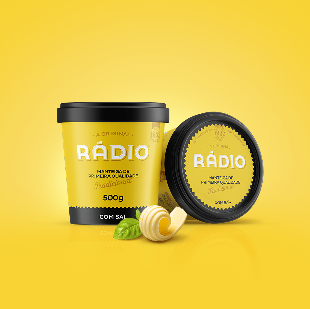 Designer Creates a Fresh New Look to a 80 Years old Butter Brand