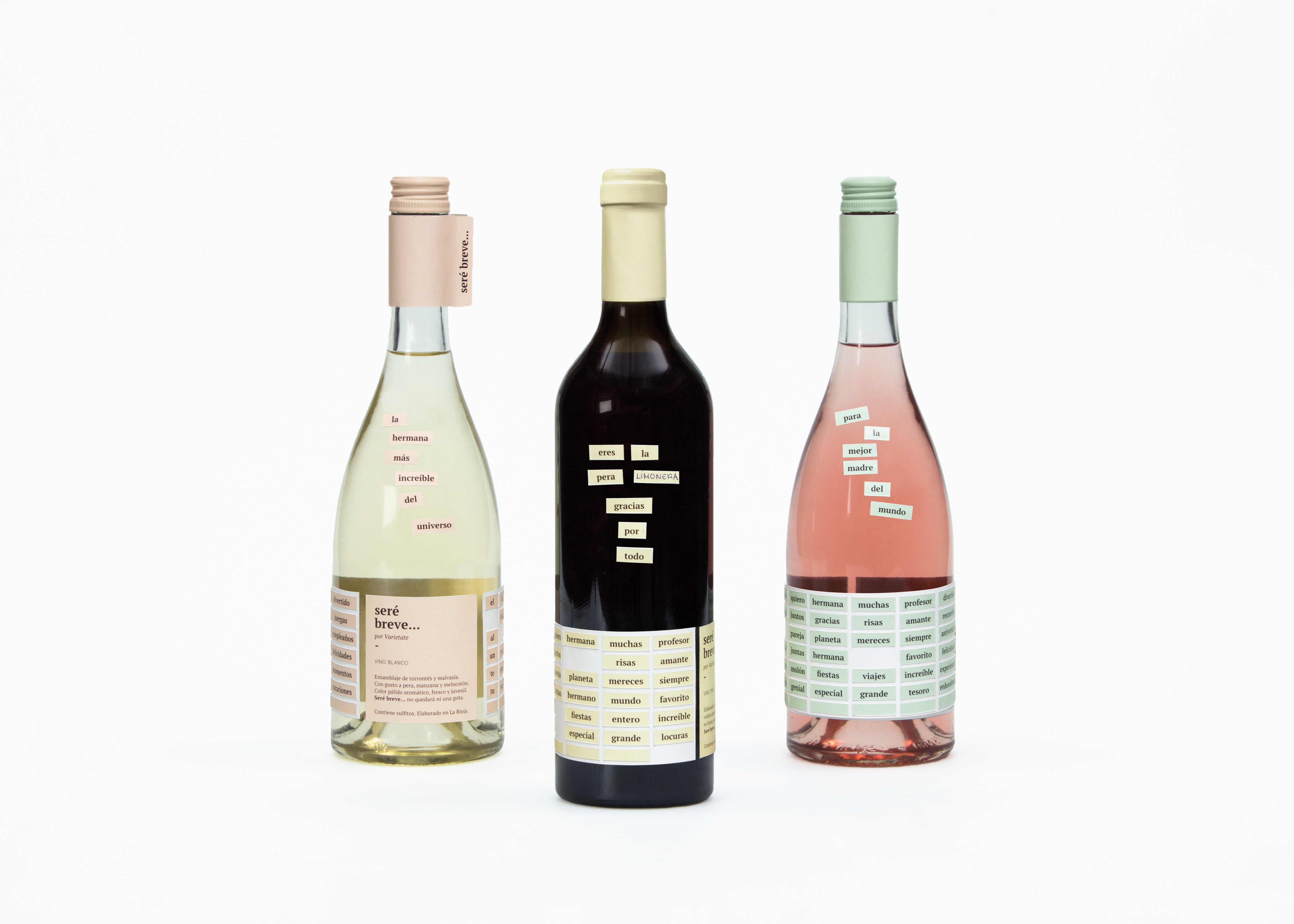 Packaging and Brand Design for Wines Produced in La Rioja
