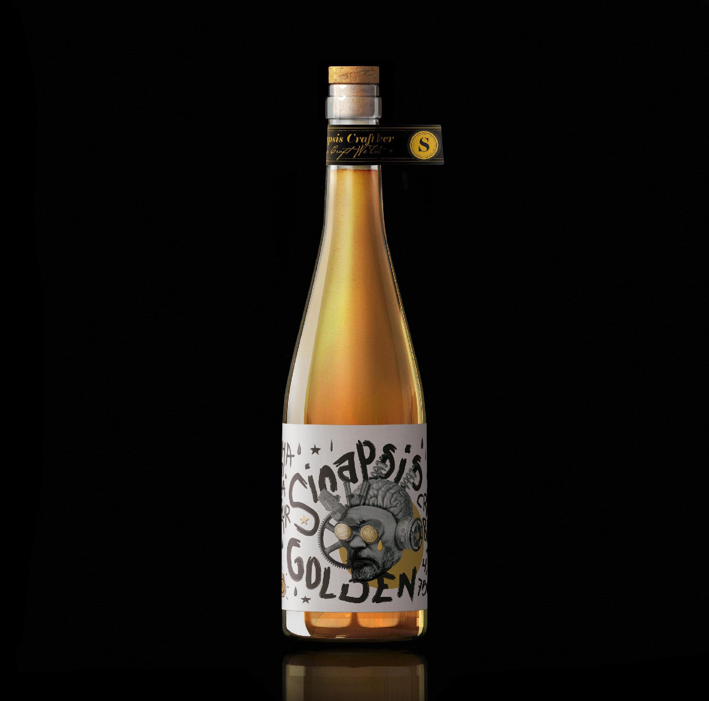 Sinapsis Craft Beer By Vantablack Creative Studio