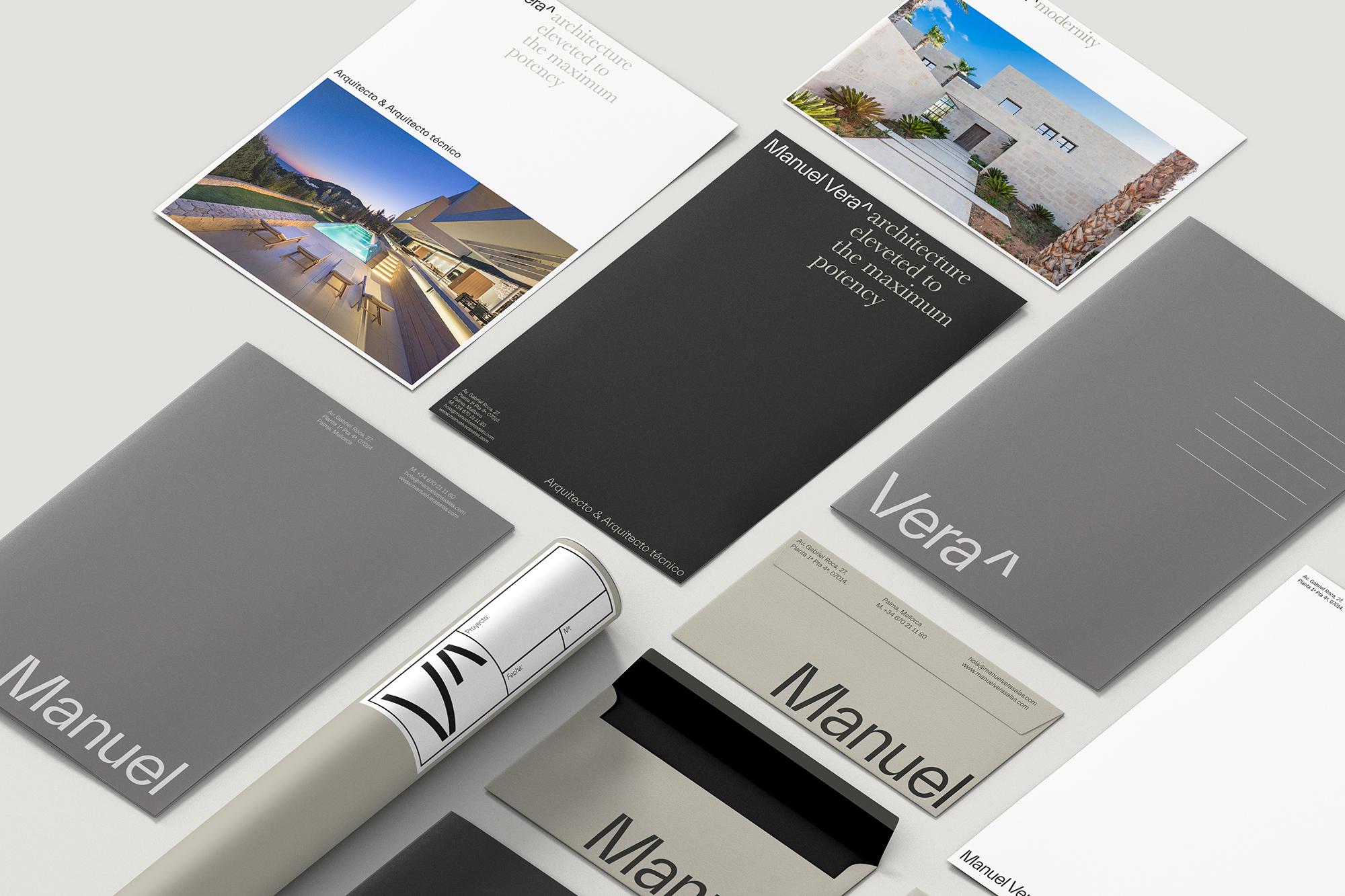 Barceló estudio Create Identity for a Modernist Architect Manuel Vera