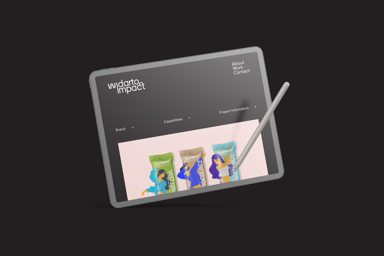 Widarto Impact Brand Identity Redesign