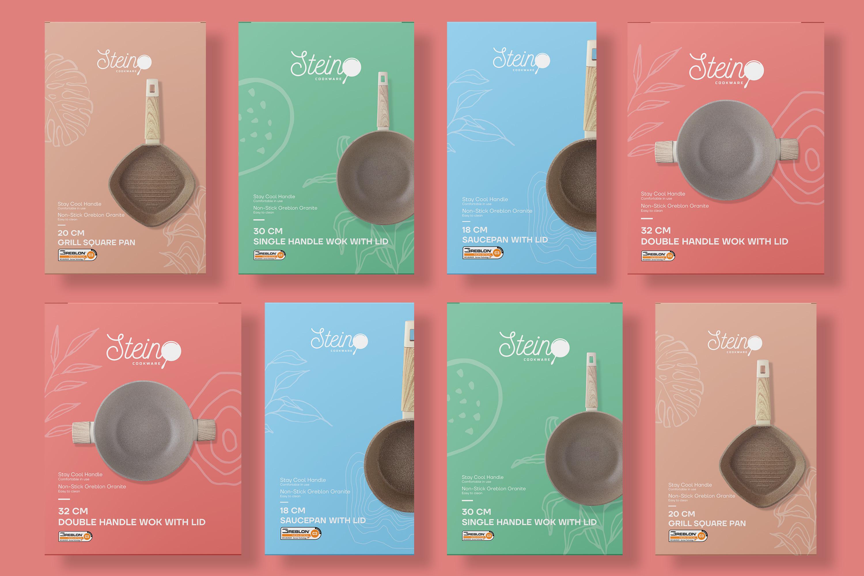 Stein Cookware Packaging Design