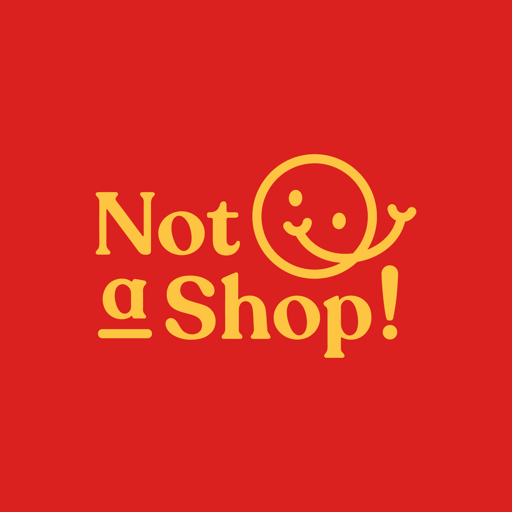Not-a-Shop Logo and Identity
