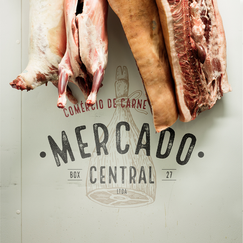 Comércio de Carnes Mercado Central New Branding