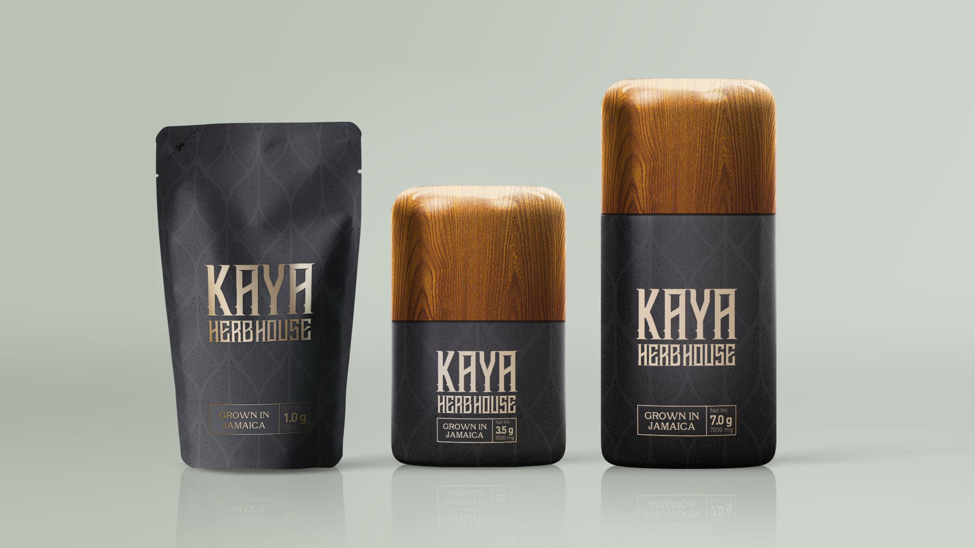 New Packaging Design for Kaya Herb House – Jamaica