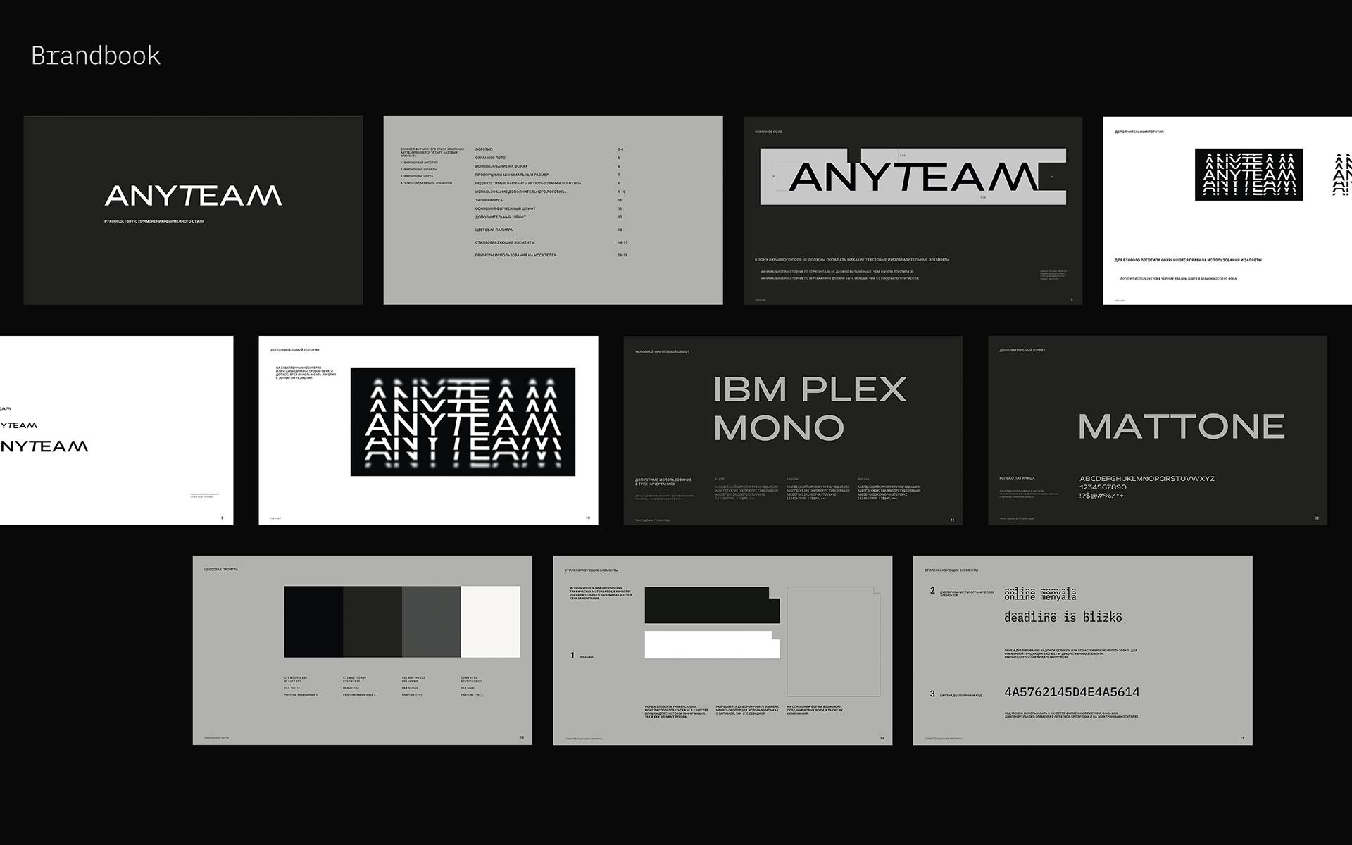 Anyteam Financial Company Brand Identity Design by Hot Büro