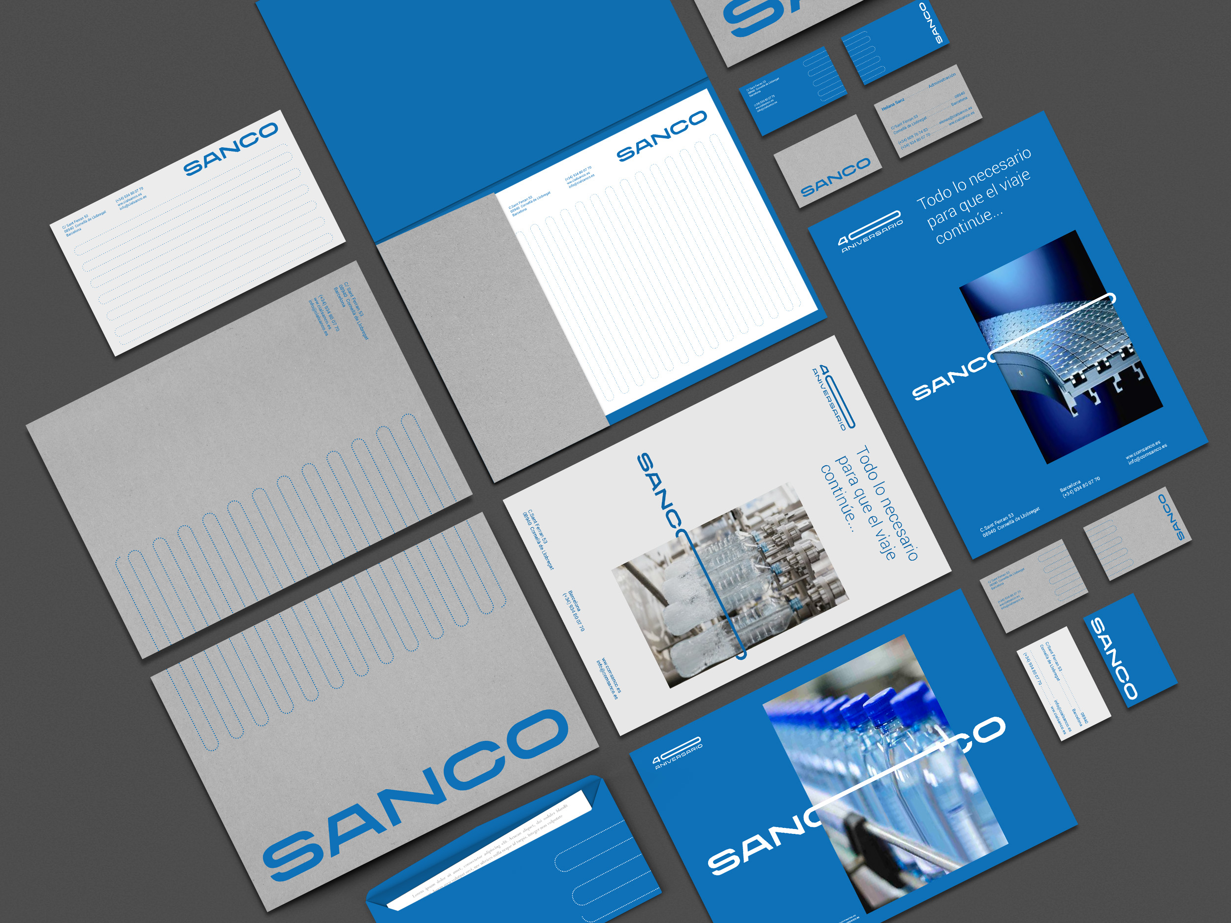 Identity for Industrial Company Specialised in Assembly Lines