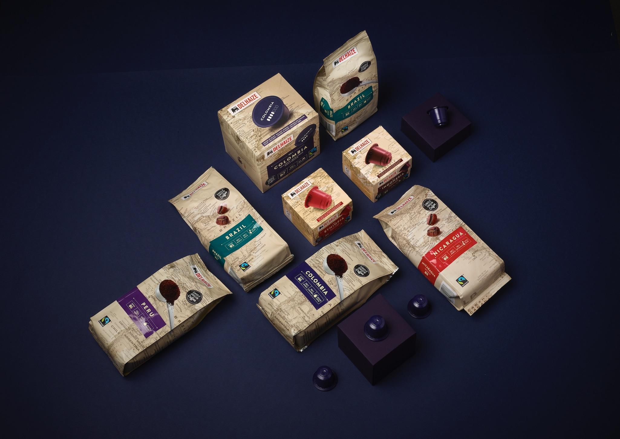 DesignRepublic Creates Fair Trade Coffee Range for Delhaize