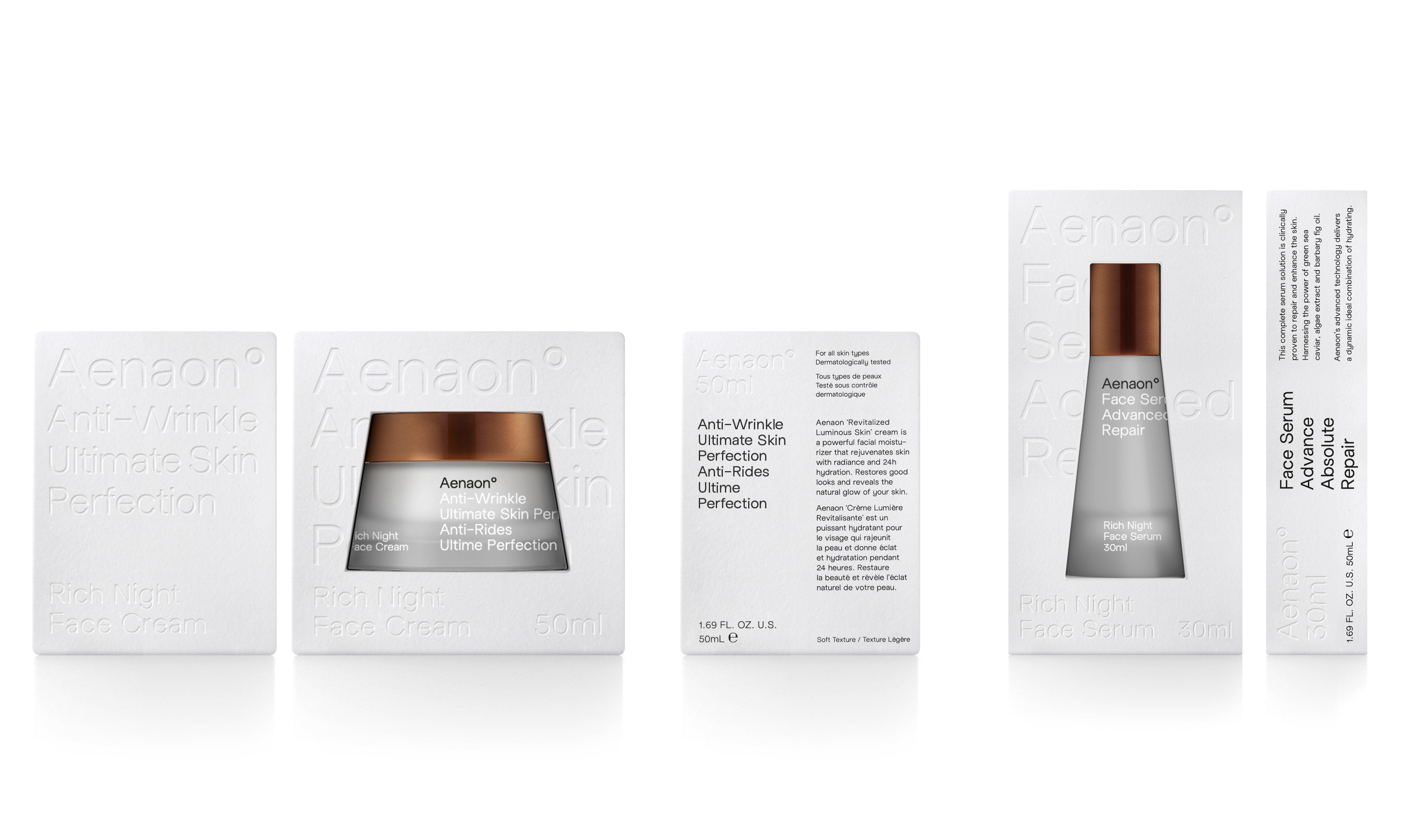 Brand and Packaging Design for Beauty and Cosmetics Brand