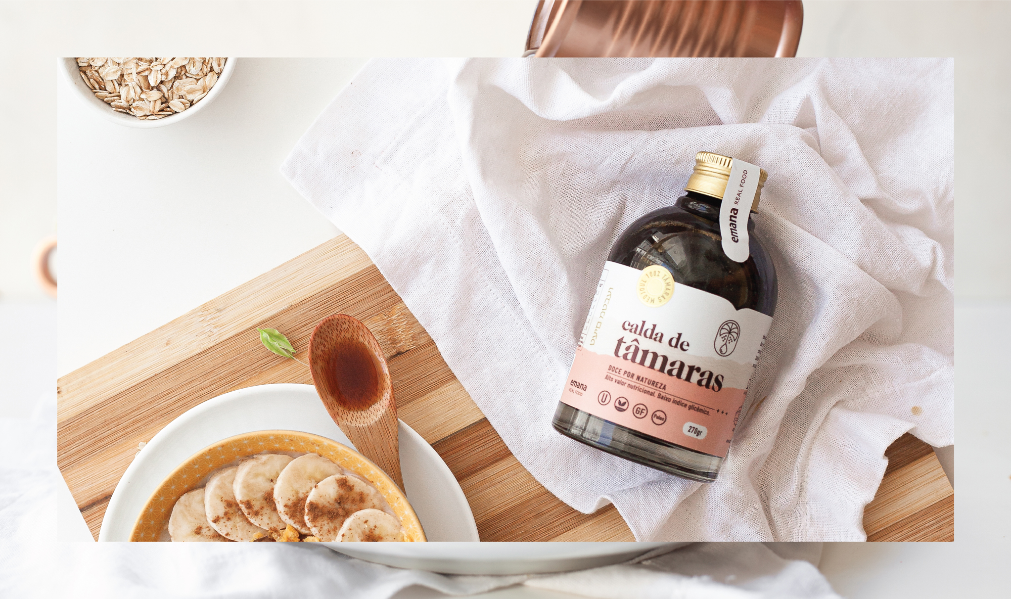 Emana Date Syrup Branding and Packaging