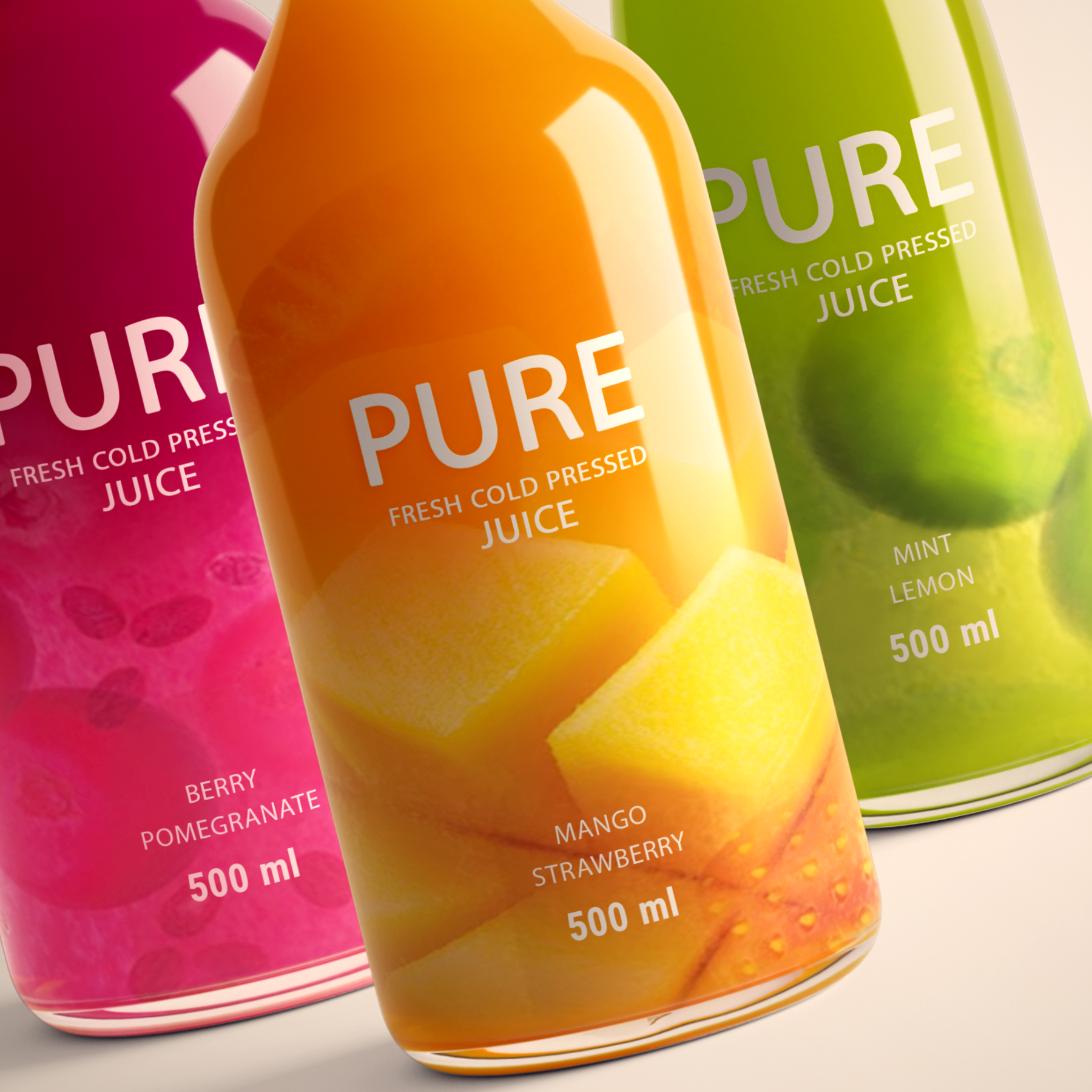 Pure Juice Packaging From Iran