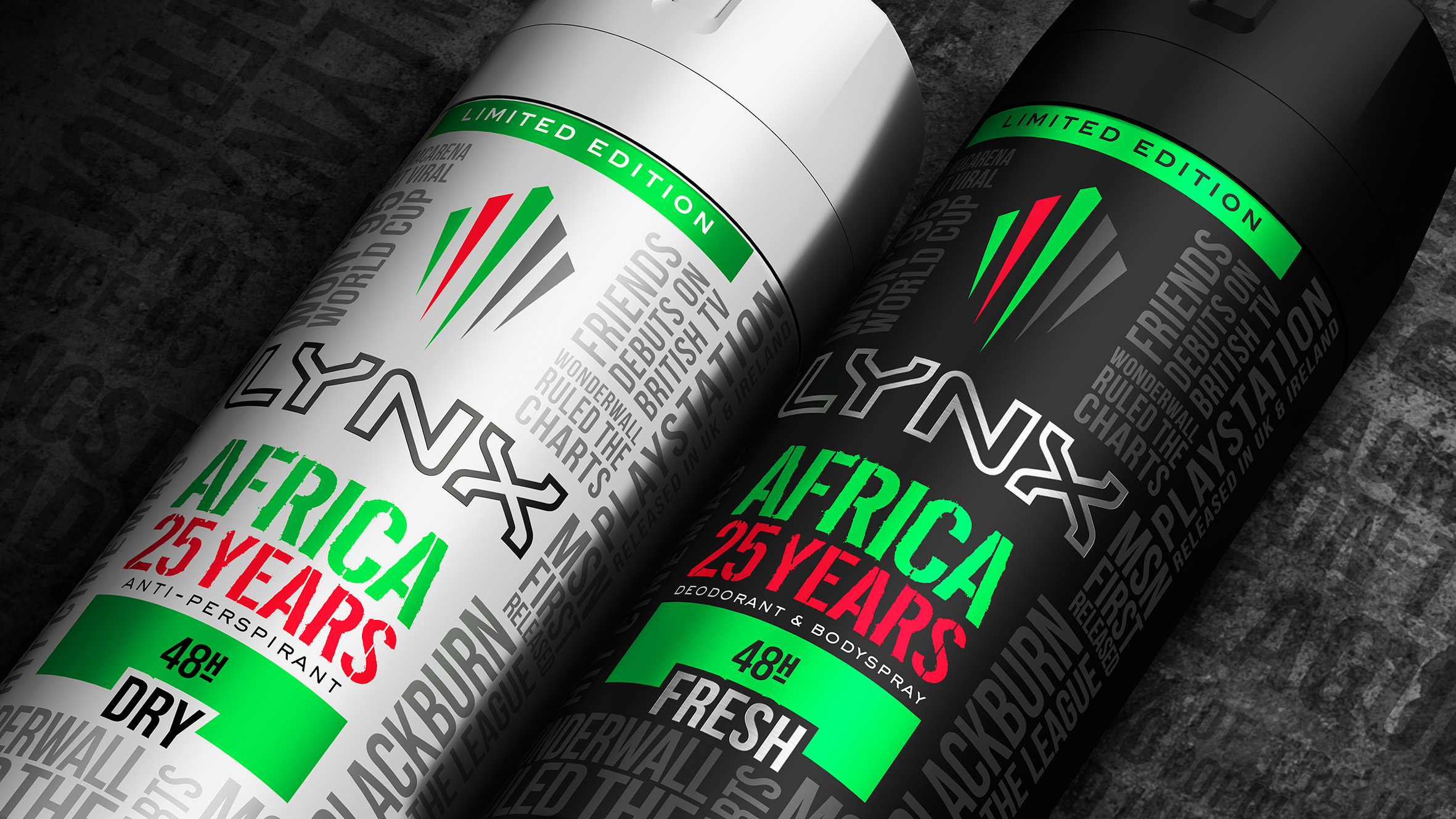 Hot Since '95: LYNX Africa Celebrates 25 Years with Limited Edition Range by PB Creative