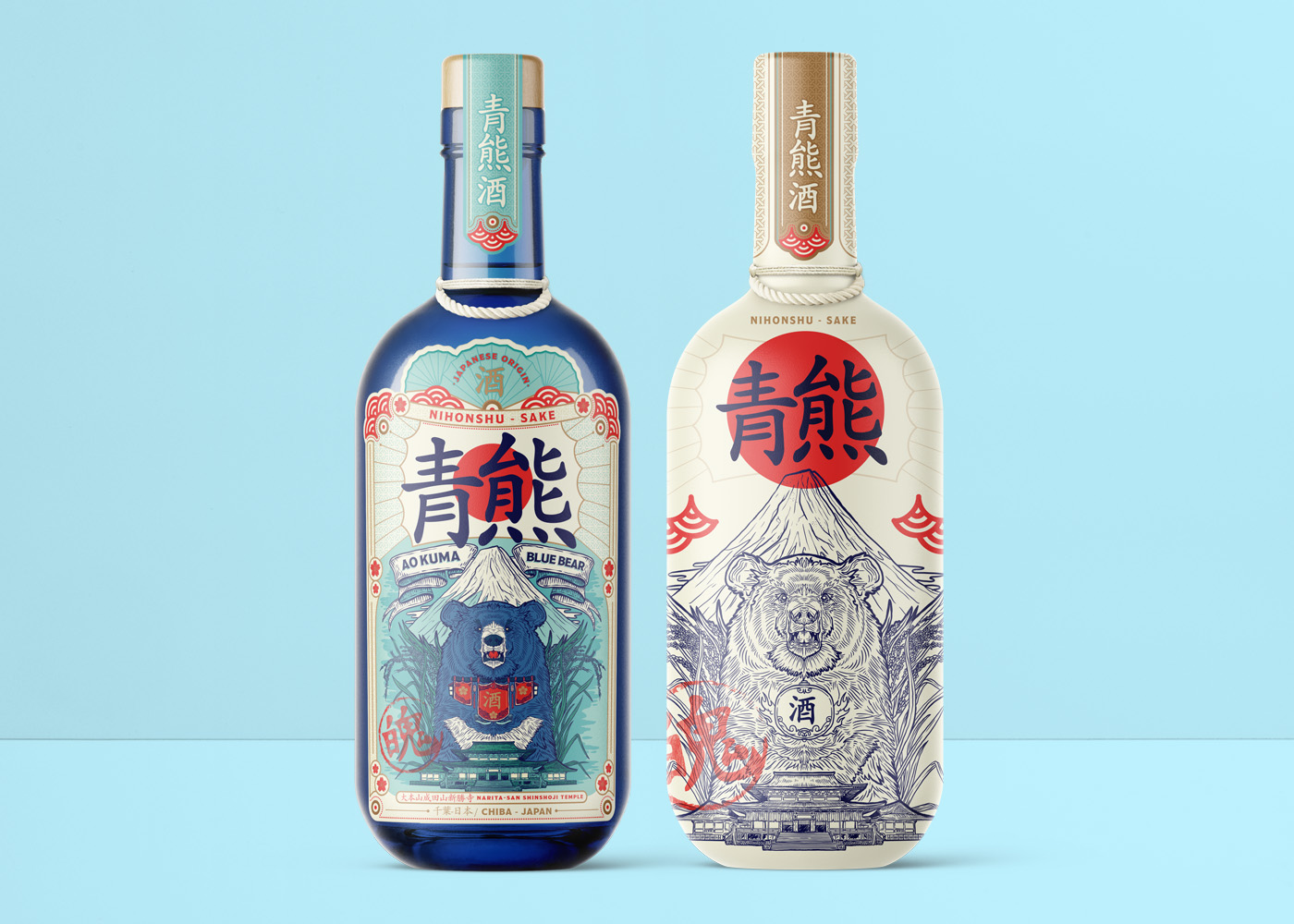 Concept Brand and Packaging Design for a Japanese Premium Sake